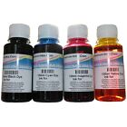 4 X 100ml Non OEM Printer Refill Ink Bottles Canon Pixma Desktop Ip2850 IP 2850