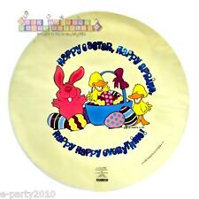 HAPPY EASTER Mylar BALLOON ~ Party Supplies Decoration ~ Basket Eggs Bunny Ducks