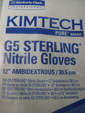 Kimtech G5 Sterling Nitrile Gloves Three Bags Of 250 Ref#98185 See Pics For Spec