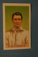 1912 Reeves Chocolates Cricket Prints by County Print 1993 - F.R. Foster.