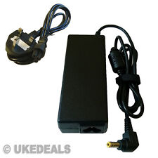 Laptop Charger Adapter For Toshiba Equium L40 U300 L300 L350 + LEAD POWER CORD