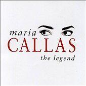 Maria Callas - The Legend [1 Disc] (CD, Oct-2000, Warner Classics (USA))-NEW