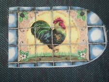 6 oven glove fabric pieces - KNOTT'S ROOSTER
