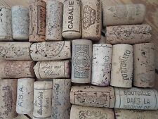 100 Used Wine Corks Natural Real Cork Mixed Designs for Wedding Craft or Fishing