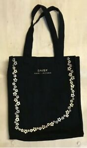 Tote bag MARC JACOBS DAISY gold screen print day bag travel reuseable Plus Gift!