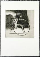 Untitled um 1965. Aquatinta-Radierung Heribert LOSERT (1913-2002 D) handsigniert