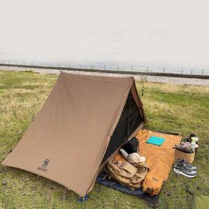 Double Tent Alpenstock Easy Setup Survival Shelter Adventurer Hiking Camping Us