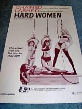 HARD WOMEN(1975)ORIGINAL PRESSBOOK UNUSED!