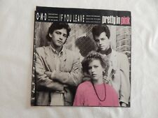 "ORCHESTRAL MANOEUVRES IN THE DARK ""If You Leave"" PICTURE SLEEVE! NEW!"