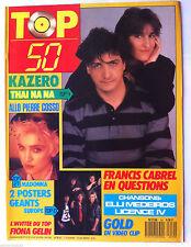 TOP 50 n°59; Interview Fiona Gélin/ Thaï Na na/ Interview Francis Cabrel/ P Coss
