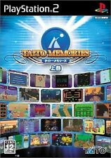 Used PS2 Taito Memories Joukan SONY PLAYSTATION JAPAN IMPORT