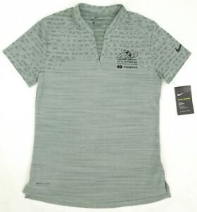 NEW! Nike Golf Zonal Cooling Jacquard Polo Arnold Palmer Invitational Clay Green