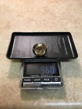 14Kt Gold Ring vintage egyptian style Size 6 YELLOWISH STONE 9.60 Gram Not Scrap