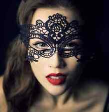 Máscara negra veneciana encaje despedida soltera sexy 50 sombras Grey
