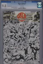 Age of Ultron #1-Bryan Hitch Sketch Variant Cover (Marvel 05/13) CGC graded 9.8