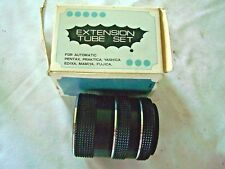 AUTOMATIC EXTENSION TUBE SET MADE IN JAPAN for pentax