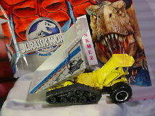 2015 JURASSIC WORLD Construction DUMP DOZER✰Yellow/Gray truck✰Loose Matchbox✰