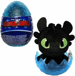 """SEALED How to Train Your Dragon Egg Legends Toothless Green Eyes Sparkles 3"""""""