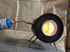 Forge Coffee Can Propane Gas Forge Blacksmith Forge Knife Making By CGR Customs