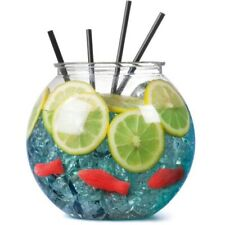 Fish Bowl Cocktail Fishbowl Drinking Games Party Globe Punch Free Post