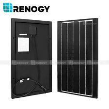 Renogy 30W Watts 30 Watt Monocrystalline Solar Panel Off Grid 12V for Camping RV