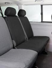 VW T5 Doppelbank 2. Sitzreihe/mitte Sitzbezug Maßbezug passform schwarz