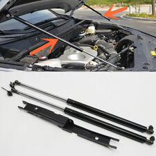 2* Steel Front Hood Lift Support Shock Strut Rod for Toyota Hilux Revo 2016-2019