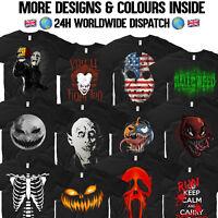 Scary T Shirt Nosferatu Deadpool Vampire Jason Skeleton Zombie Venom Halloween
