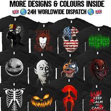 Camiseta De Terror Halloween Nosferatu Venom Deadpool Scream Jason Esqueleto Zombie