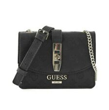 Guess Peony Classic Mini Cross Body Bag - Black