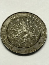 1904 Netherlands 2 1/2 Cents XF #7019