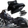 Hard Saddle bags Saddlebag Trunk +Lid Latch Keys For Harley Road King 1994-2013