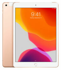 Apple iPad 7th Gen. 128GB, Wi-Fi + 4G (Unlocked), 10.2 in - Gold