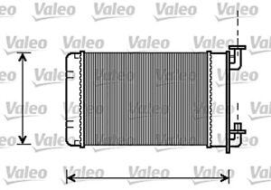 VALEO Heater Core Radiator Fits BMW 3 series Z1 Saloon E30 Convertible 1982-1994