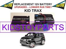 MERCEDES ML3 LONG LASTING REPLACEMENT KID TRAX 12 VOLT RECHARGE  BATTERY