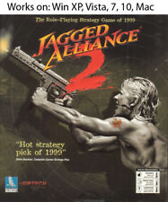 Jagged Alliance 2 PC Mac Game 1999 Windows XP Vista 7 10