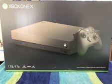 Microsoft Xbox One X 1TB Gold Rush Special Edition Battlefield V Console Bundle