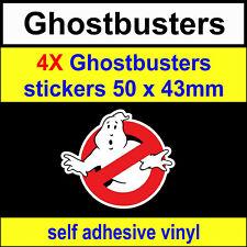 4 Ghostbusters Stickers Funny Novelty VW DUB JDM fun bike van toolbox Car Decal