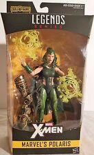 "Polaris Marvel Legends X-Men Wave 2 Series 6"" Figure Warlock BAF"