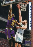 Karl Malone 1996-97 Topps Stadium Club #87 Utah Jazz Card