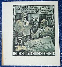 DDR geschnittene Einzelmarke 15Pf aus Block 13 Mi-Nr. 487B postfrisch