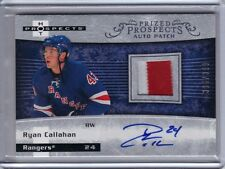 2007-08 Hot Prospects Autograph Patch Ryan Callahan RC 396/399