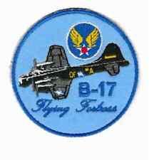 [Patch] AEREO B-17 FLYING FORTRESS diametro cm 9 toppa ricamo REPLICA -706