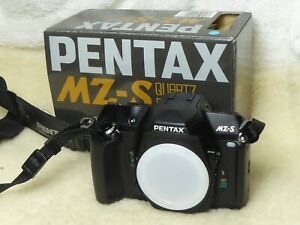 Boxed RARE PENTAX MZ-S quartz date  35MM CAMERA BODY  *near MINT*