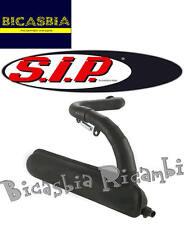 5865 - MARMITTA A SILURO NERA SIP ROAD 130 CC VESPA 125 ET3 - PRIMAVERA