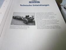 Nutzfahrzeug Archiv 2 Entwicklung 2000 Technische Entwicklungen EInleitung