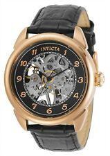 Invicta Men's Specialty 31309 42mm Black Dial Leather Watch