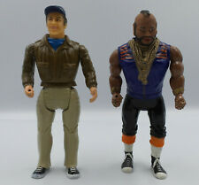 THE A-TEAM : BA BARACUS & MURDOCK ACTION FIGURES MADE IN 1983 (SK)