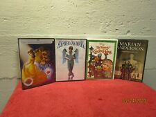 Lot of 4 New Sealed DVD Lot Family Muppet Christmas Heaven Can Wait Beauty Beast
