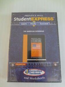 PRENTICE HALL LITERATURE STUDENT EXPRESS CDROM GRADE 11 PC/MAC New